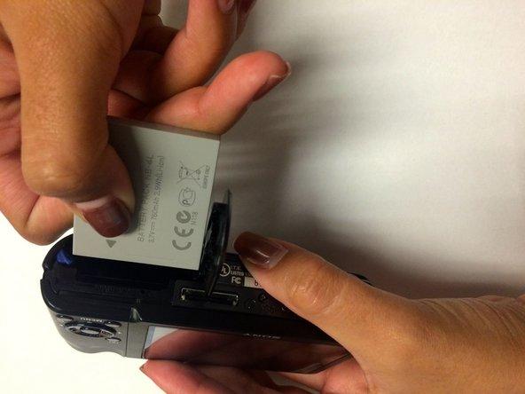 Cyber-Shot DSC-H55 Battery Replacement