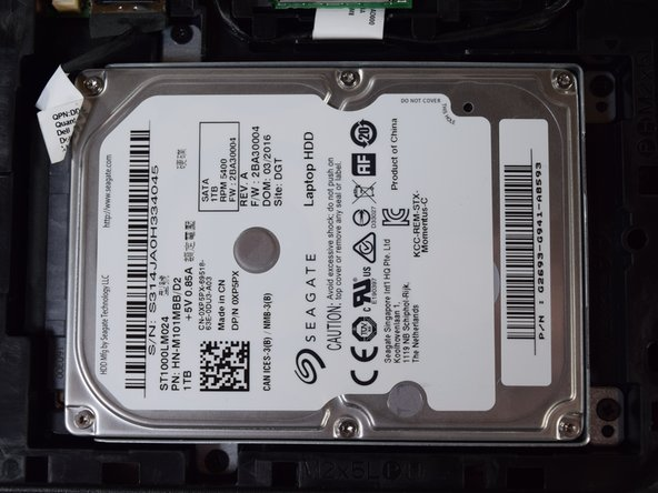 Dell Inspiron 15-7559 Hard Drive Replacement
