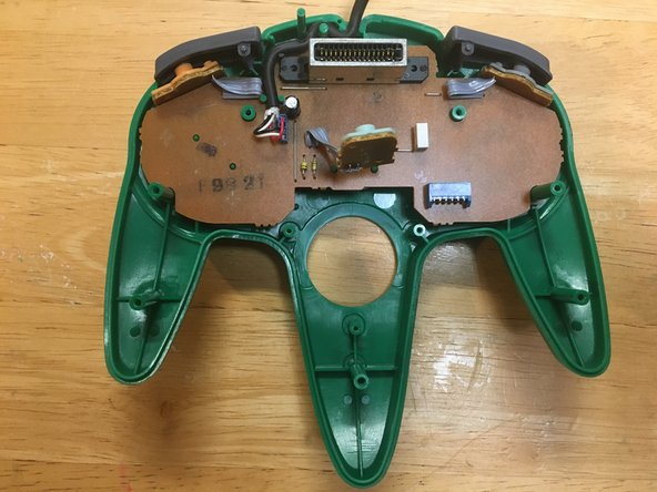 Remove the joystick module.