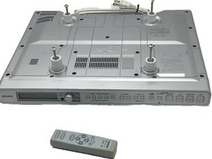 Sony ICF-CD553RM Under Cabinet Kitchen CD Clock Radio  Teardown