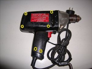 Craftsman 3/8 Inch Drill Variable Speed Reversible Teardown