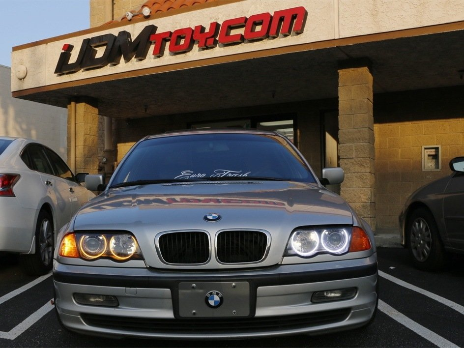 How To Install BMW E46 3 Series Switchback LED Halo Rings - iFixit