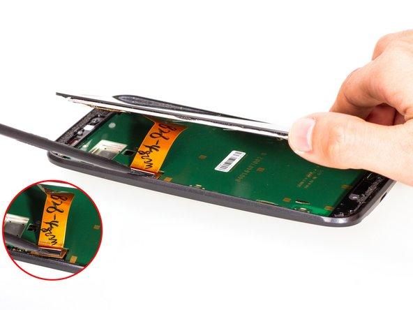 Remove LCD screen.