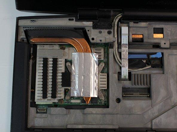 Alienware M17x P01E Graphics Card Replacement