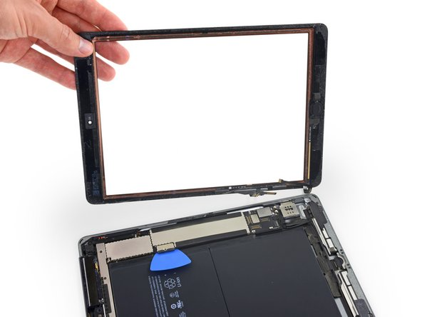 iPad 5 LTE Front Panel Assembly Replacement