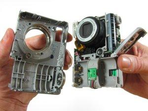 Remplacement du boitier avant du Kodak EasyShare C913