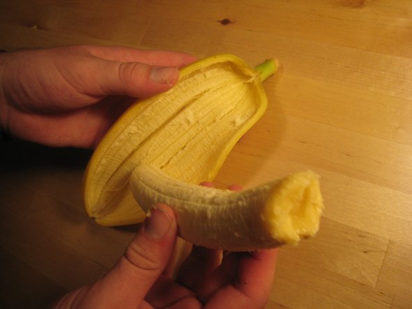 Remove fruit from peel.