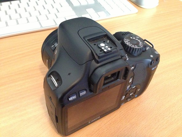 Canon EOS Rebel T2i Top Cover Replacement