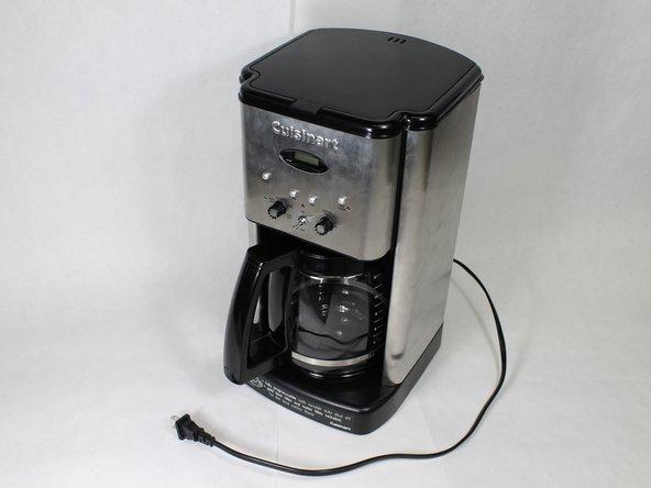 cuisinart dcc 1200 repair ifixit. Black Bedroom Furniture Sets. Home Design Ideas