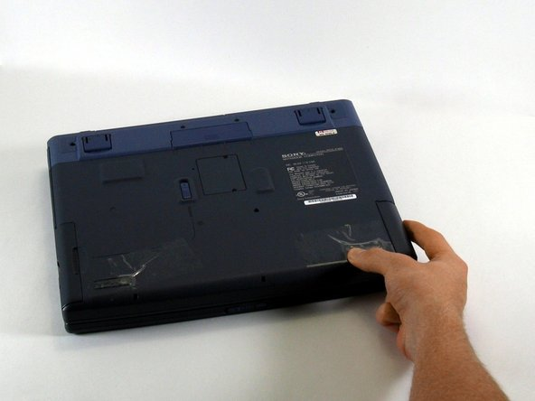 Sony Vaio PCG-F360 Battery Replacement
