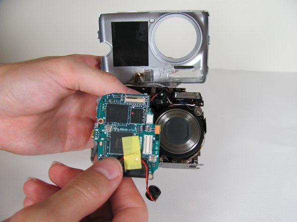 Remove the motherboard from camera body.