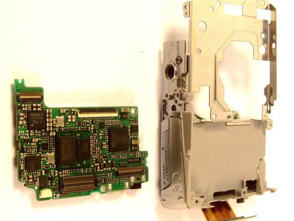 Canon PowerShot SD700 Motherboard Replacement