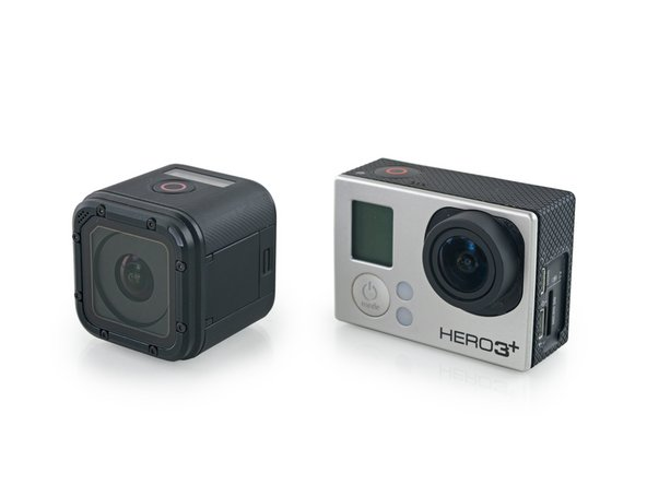 We grabbed a GoPro Hero3+ for comparison; here's what we found: