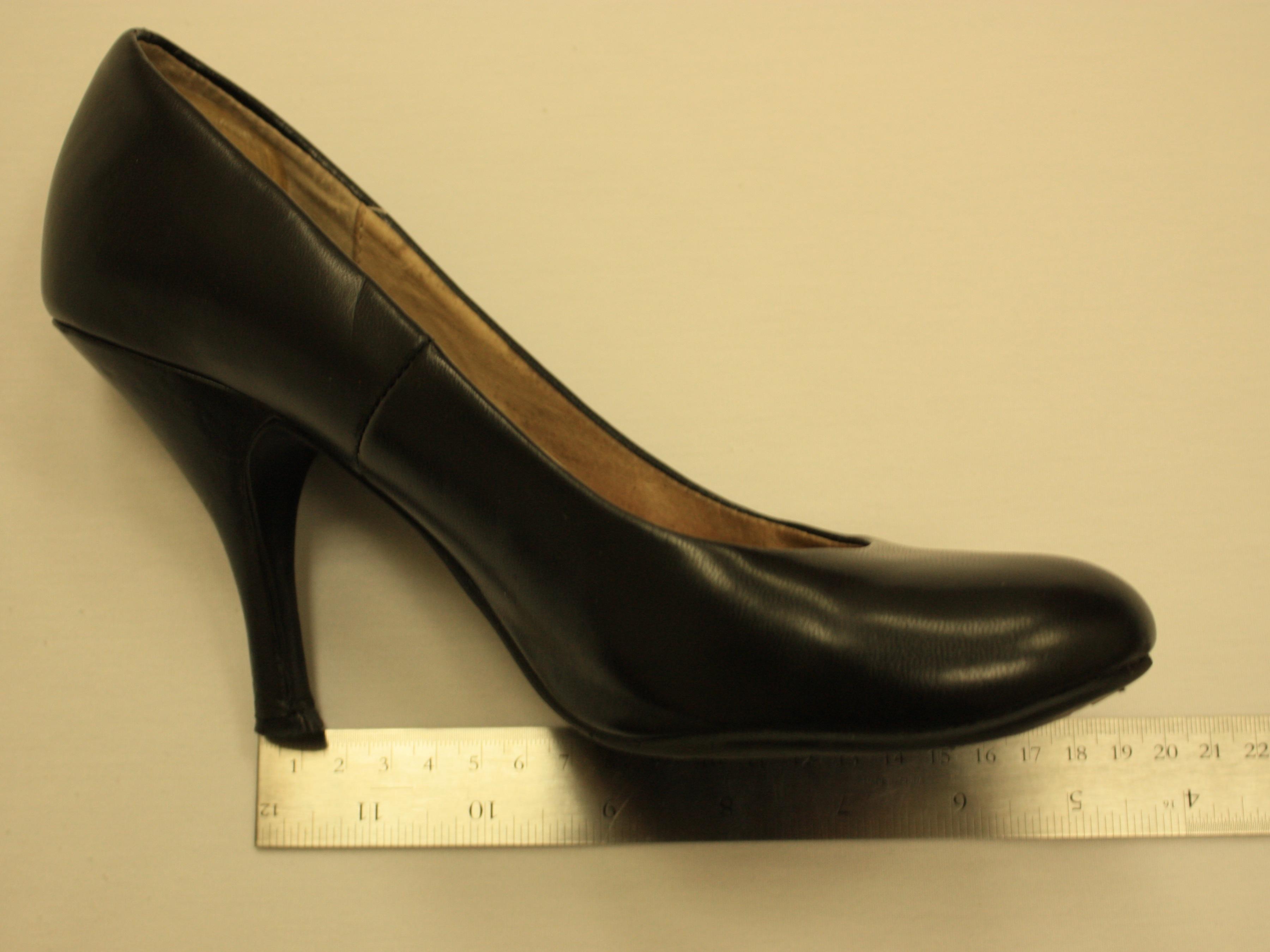High heel spunk