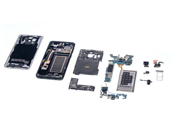 Galaxy S9 Teardown /  Display Replacement  (Video)