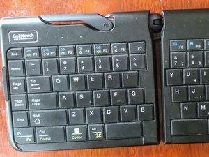 Gouldtouch Keyboard SK-2721 Disassembly