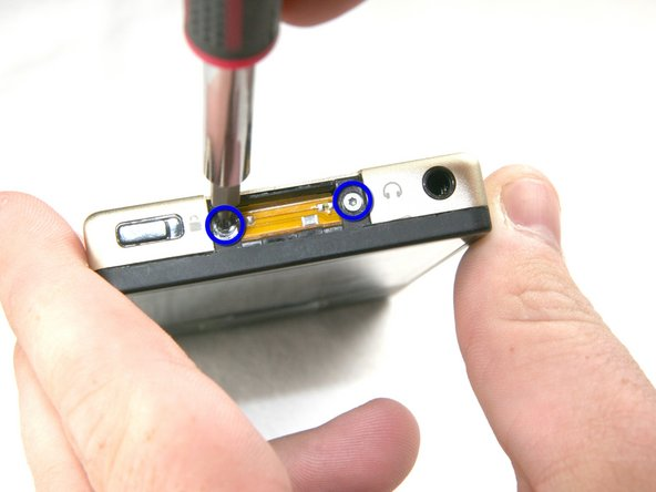 Image 1/1: Be careful removing the screws; the screw heads can break very easily.