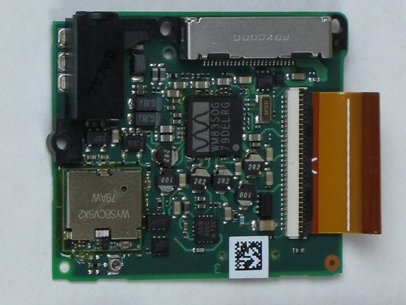Zune Flash 2nd Generation Communications Board Replacement