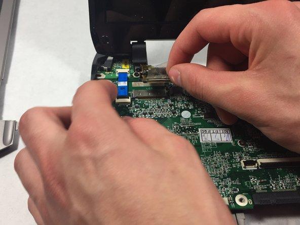 Unplug the SCD cable