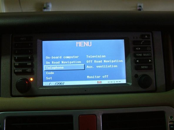 Land Rover 2003 2004 Range Rover Bluetooth Replacement