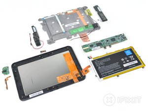 Kindle Fire HD Teardown