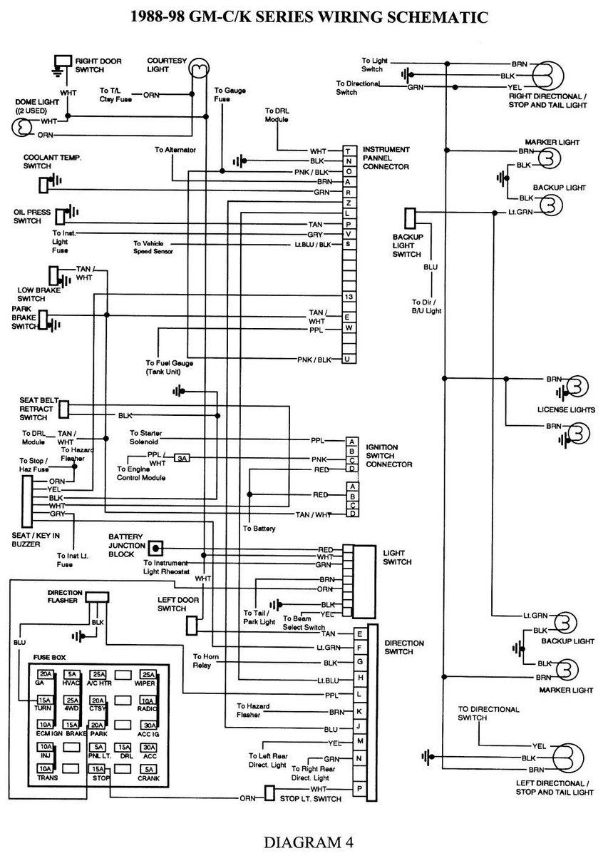 88 chevy turn signal wiring diagram enthusiast wiring diagrams u2022 rh rasalibre co
