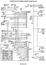 1989 chevy 3500 heater wiring diagram