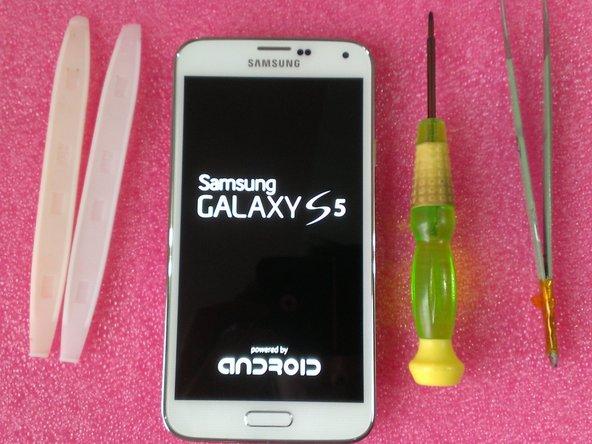 Disassembling Samsung Galaxy S5