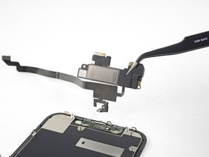 Earpiece and Front Sensor Assembly