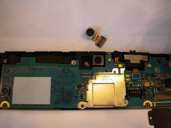 Samsung Galaxy Tab 8.9 Front Facing Camera Replacement