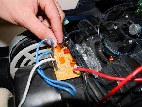 Make sure you remember which orange plug goes where!