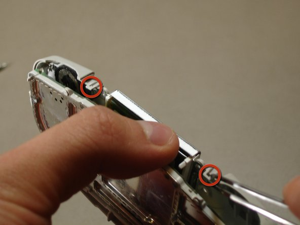 Image 2/3: The tabs are very fragile.  Be gentle when releasing the tabs.
