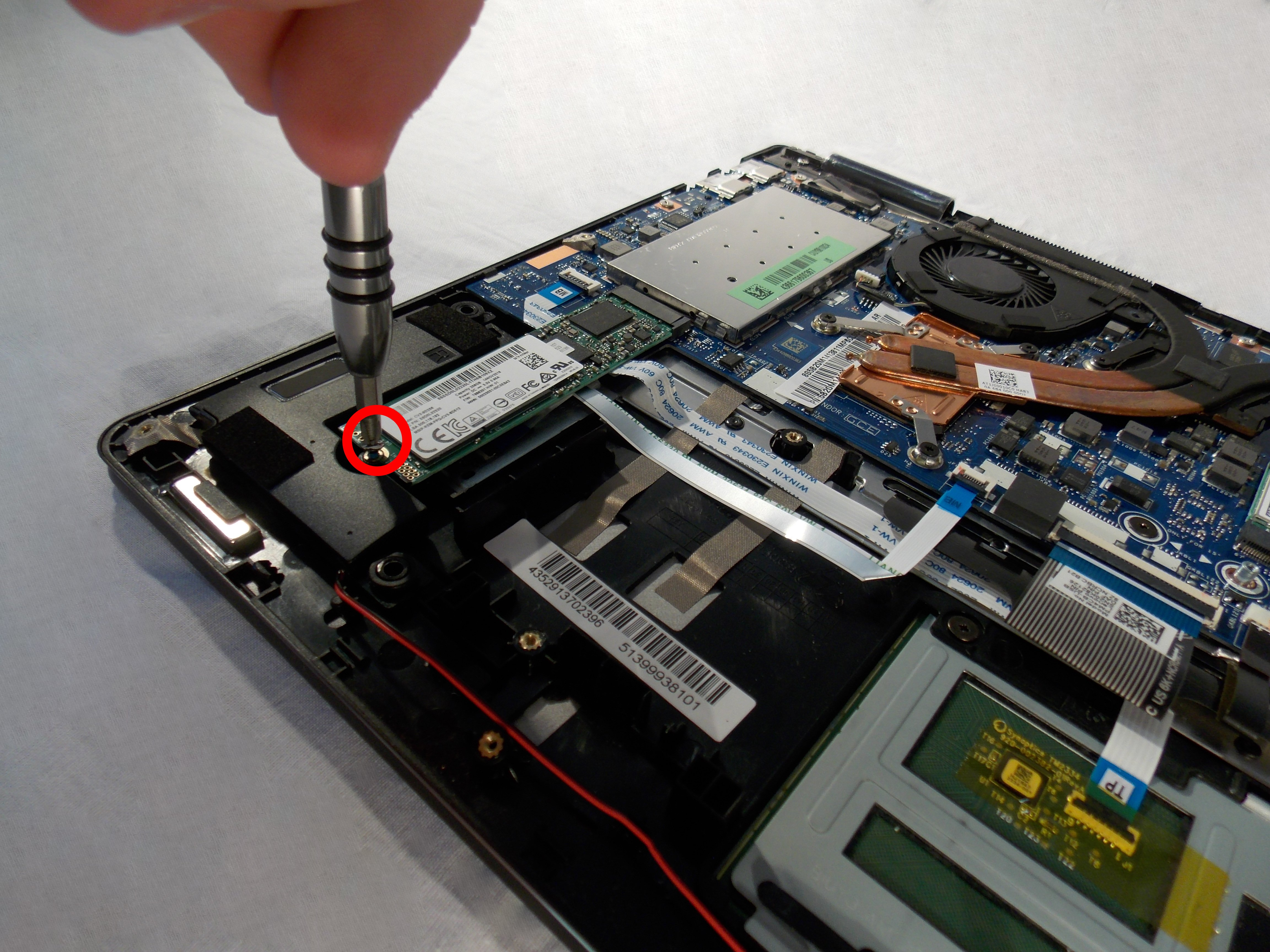 Lenovo Yoga 710-15IKB Solid State Drive Replacement - iFixit Repair