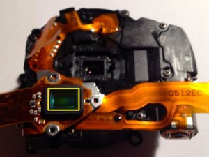Panasonic Lumix DMC-TZ10 Image Sensor Repair