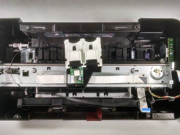 Disassembling HP Deskjet 3000 j310a Inside Metal Structure