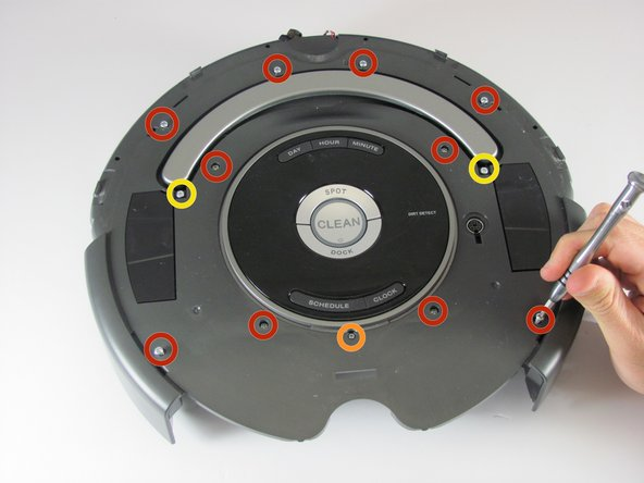 iRobot Roomba 655 Pet Series Internal Faceplate Removal