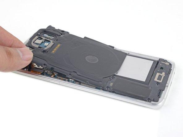 Samsung Galaxy S7 Edge NFC Antenne und Ladespule austauschen