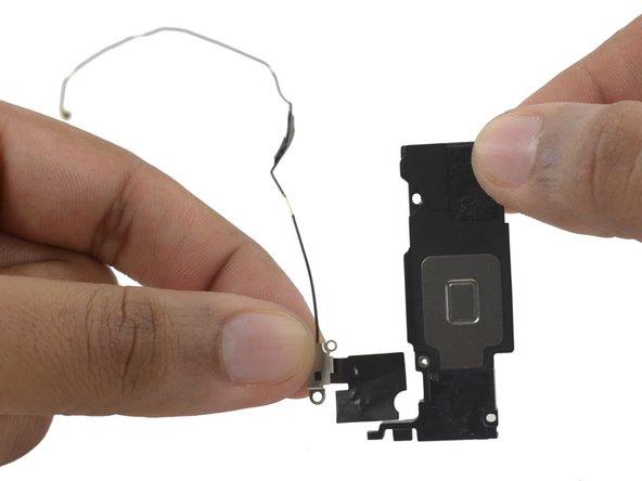 Image 3/3: Remove the antenna.