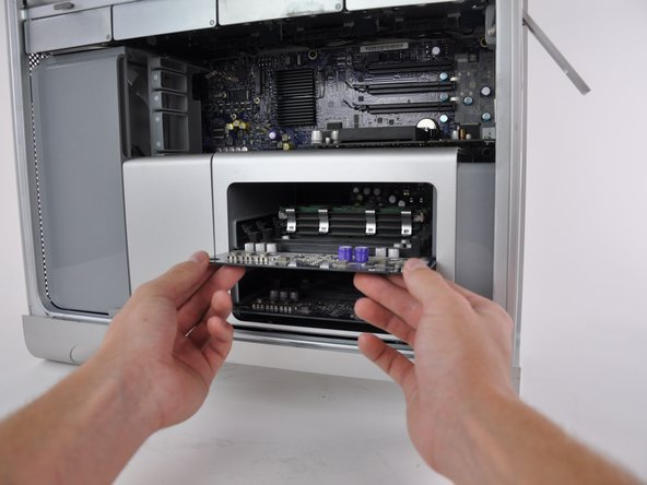 Image 1/2: Make sure you give enough time for the computer to cool down before you remove any internal hardware parts.