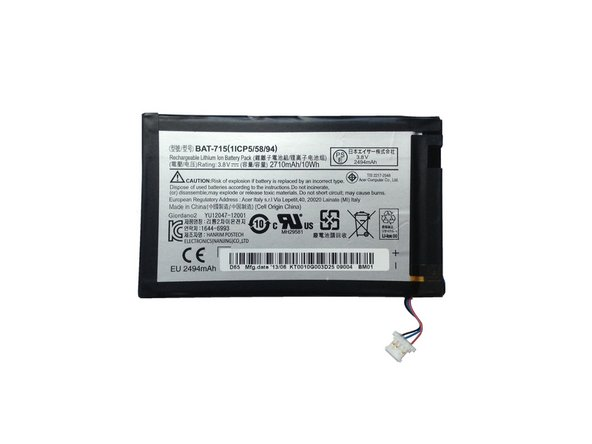 Acer Iconia B1-711 Battery Replacement