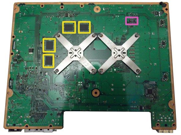 Image 2/2: 6 x Samsung K4J52324QC-BC14 512mb GDDR3 SRAM