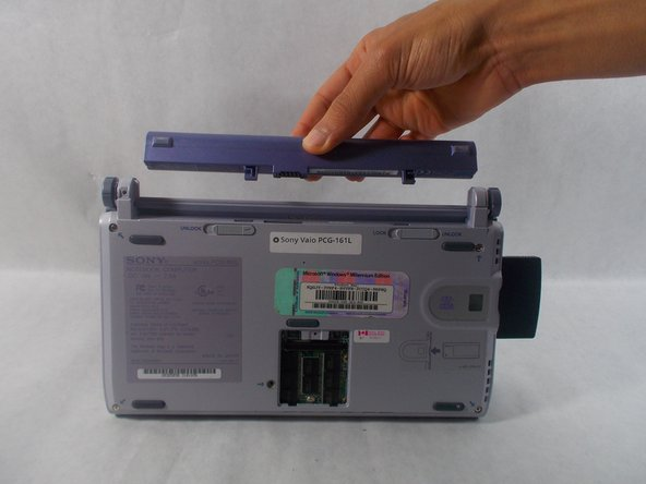Sony Vaio PCG-161L Battery Replacement