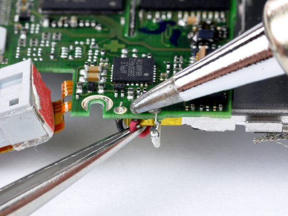 Image 1/1: Small electronic components, including wires, cannot dissipate heat as quickly as larger components. This makes them very susceptible to overheating.  Make sure to heat the connection just long enough to melt the solder.