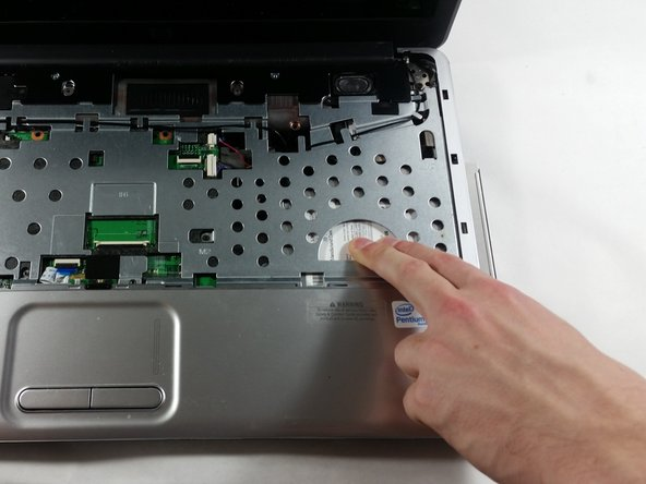 Slide the CD player case away from the device with medium-hard force, it should come right out.