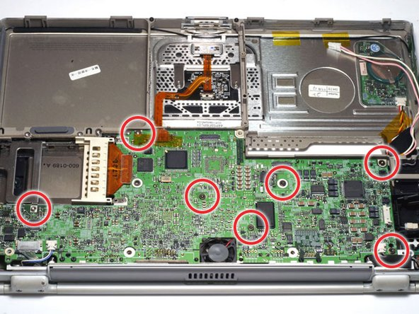 PowerBook G4 Titanium DVI Logic Board Replacement