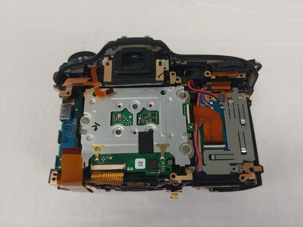 This is what you should see after removing the motherboard.