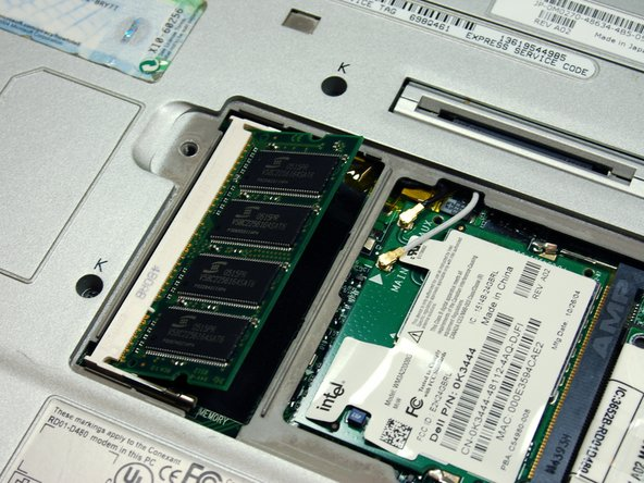 Dell Latitude X300 RAM Replacement