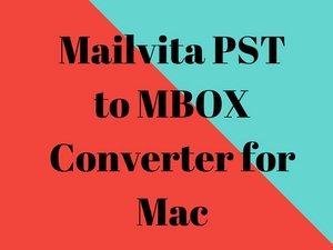 PST till MBOX Converter för Mac - En lösning för att exportera och migrera PST till MBOX-format