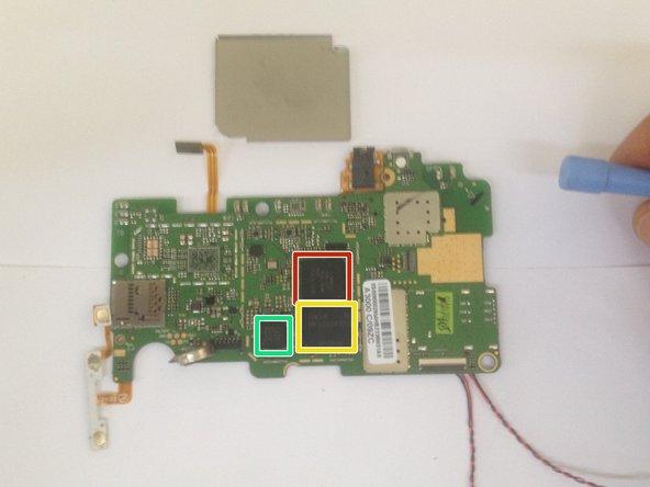 Power management chip - Mediatek MT6329BA