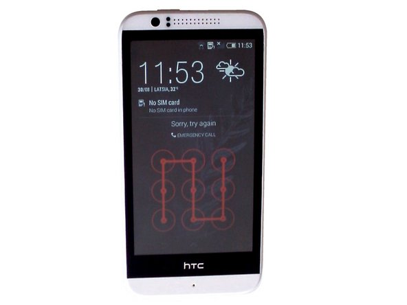 How to hard reset HTC Desire 510